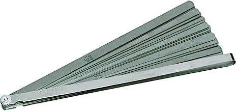 "product image for Proto J000TL 25 Blade Long Feeler Gauge Set (1/2"" and 12"" blades in steel holder)"