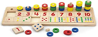 Wooden Count & Match Numbers-Wooden Educational Toys