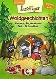 Lesetiger - Waldgeschichten: Erstlesebuch für Mädchen und Jungen ab 6 Jahre
