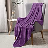 BEDELITE Fleece Blankets Purple Throw Blankets for Couch & Bed, Plush Cozy Fuzzy Blanket 50' x 60', Super Soft & Warm Lightweight Throw Blankets for Fall and Winter