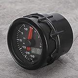 Turbo Boost Gauge LED Juego de instrumentos de modificación del medidor de Turbo Boost 52 mm/2 en 7 colores