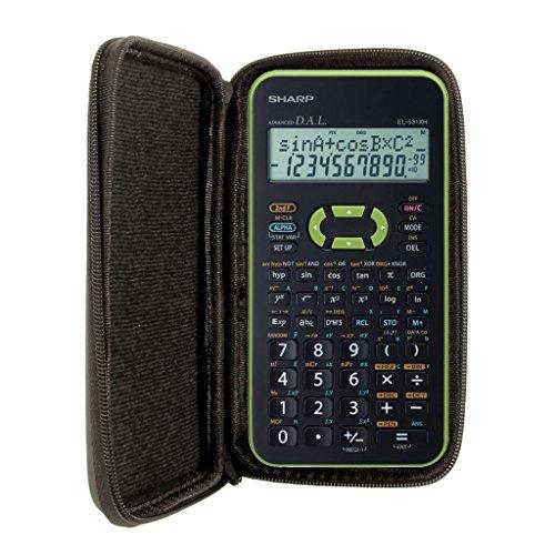 Schutztasche für Taschenrechner von Sharp, für Modell: EL 531XH