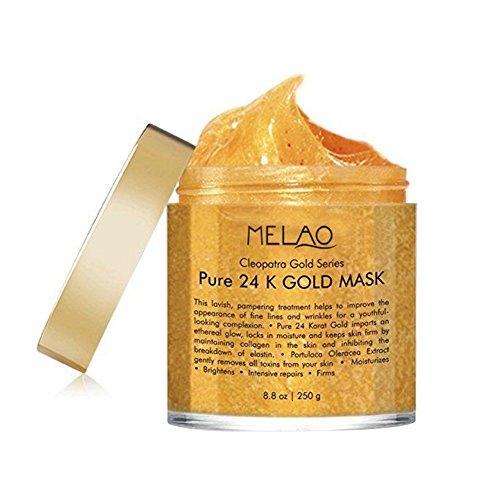 24k Gold-Gesichtsmaske, Mitesser Maske, Peel Off-Gesichtsmasken, Mitesser Entferner Masken, Gold Gesichtsmaske für Anti-Aging Anti-Falten-Gesichtsbehandlung Pore Minimizer, Narbe Akne Behandlung