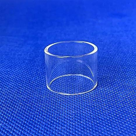 Qingtian-ceg Reemplazo 1pc del Bulbo Normal del Tubo de Cristal en Forma for Vaporesso en Forma for Veco Plus en Forma for Nebulosa Revenger en Forma for Orca Solo Apto for el Kit Una Actitud Tanque