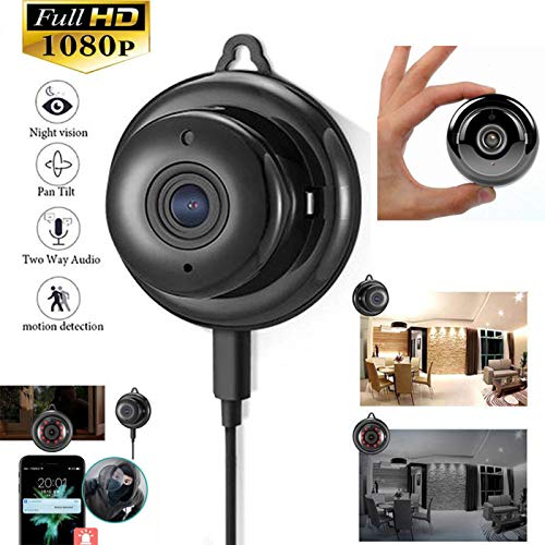 OUYAWEI Draadloze Mini WIFI IP Camera HD 1080P Home Security Camera met Nachtzicht