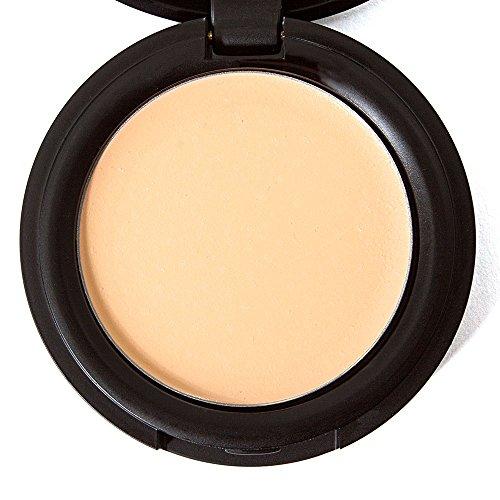 Concealer Cream Full Coverage Organic Makeup Best For Under Eye Dark Circles, Blemishes, Acne, Rosacea On Face From Fair Light Dark Shades - Golden Sand