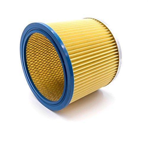 vhbw 1 filtre rond / filtre à lamelles compatible avec aspirateur Topcraft TC-NTS 30 A.