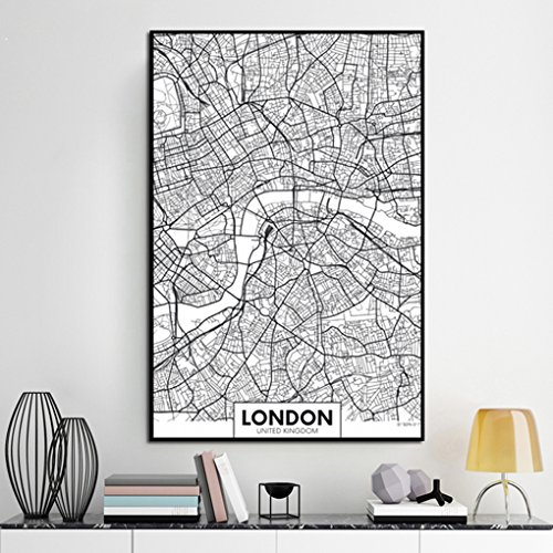 lidahaotin London New York Paris Canvas Wall Painting...