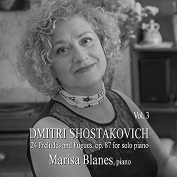 Dmitri Shostakovich: 24 Preludes & Fugues, Op. 87, for Solo Piano