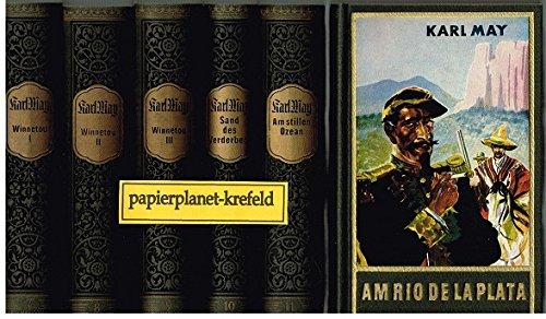 Karl Mays Gesammelte Werke Band 7, 8, 9, 10, 11, 12 (7 bis 12 komplett) Winnetou ...Konvolut Sammlung Set
