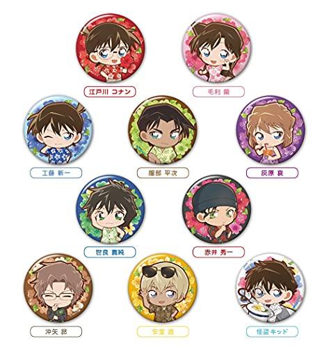 「名探偵コナン」缶バッジ+ フラワーレイver.(BOX)