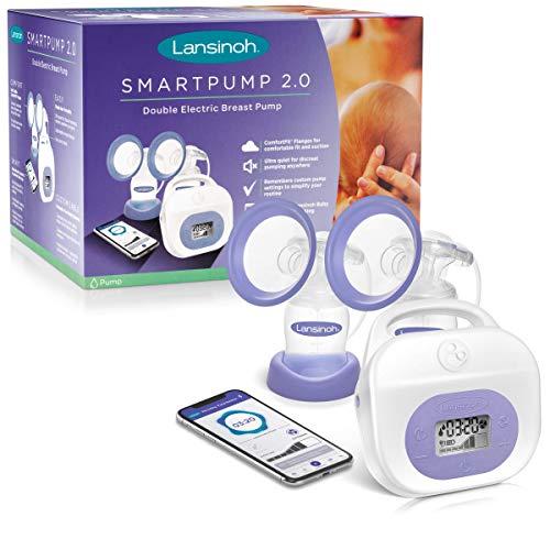 Lansinoh Smartpump2.0 Double Electric Breastpump for Breastfeeding Moms