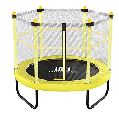 Yangangjin Outdoor trampoline tuintrampoline, kindertrampoline, trampoline, complete set inclusief springmat, veiligheidsnet, gevoerde netpalen en randafdekking