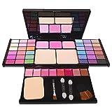 Paleta de Sombras de Ojos Paleta de Maquillaje 49 Colores Brillantes Matter and Shimmer Brillo de...
