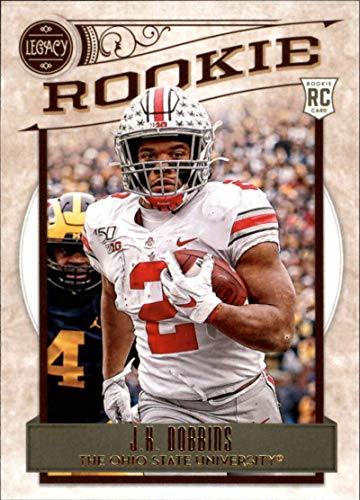 2020 Legacy Football #155 J.K. Dobbins Ohio State Buckeyes Rookie Official NFL Trading Card by Panini America