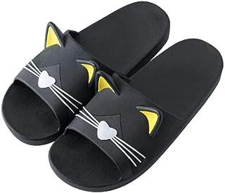 Unisex Adults Flip-Flops Sandal Slipper House Flats Open Toed Slide Shoes Tiger Family