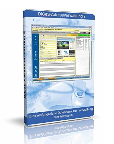 DIGeS Adressverwaltung 2 - Software zur Verwaltung von Adressen - Datenbank Programm zur Adress-Verwaltung