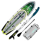 BOTE Rackham Aero Inflatable Stand Up Paddle Board for Fishing, SUP with Accessories | Pump, Paddle, Fin, Travel Bag, Bug Slinger Dorado…