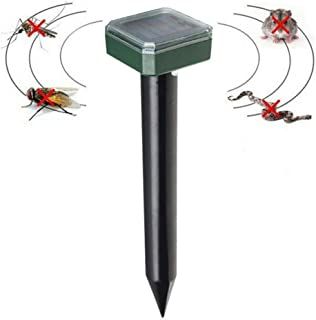 Pest Control Repellent,Pest Repeller Indoor outdoor, Solar electronics drive out pests, new energy ultrasound drives to ex...