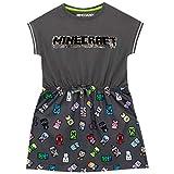 Zoom IMG-2 minecraft abito per ragazze grigio
