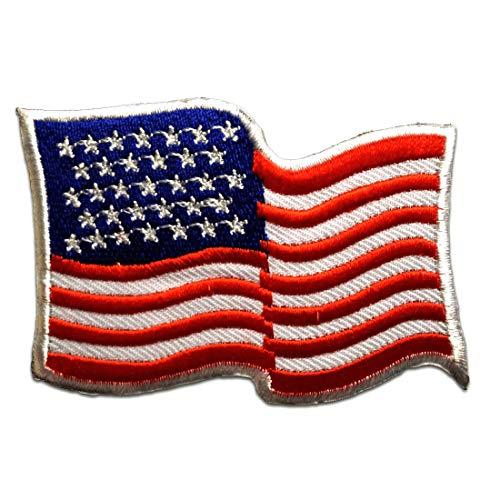 USA America Army - Aufnäher, Bügelbild, Aufbügler, Applikationen, Patches, Flicken, zum aufbügeln, Größe: 7,9 x 5,5 cm
