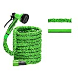<span class='highlight'>dicn</span> <span class='highlight'>electronic</span> Expandable Garden Hose 100ft Light Weight Hose Pipe with Spray Gun 7 Function Easy Storage for Waterting Plants, Washing Car Pets Gardening 1/2