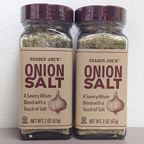 Trader Joe's Onion Salt (Pack of 2)