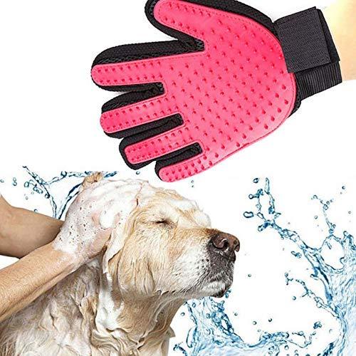NDYD Haustier-Produkte Haarentfernung Pinsel Handschuhe Pet Handschuhe for Cat Beauty-Produkte Haar-Kamm-Finger-Handschuhe Haustier-Reinigungs-Tools DSB