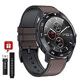 スマートウォッチ Bluetooth通話 腕時計 活動量計 歩数計 GPS IP68レベル防塵防水 着信通知 音楽制御 日本語 メンズ/レディース Smart watch iPhone/Android対応