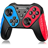 Wireless Controller for Switch/Switch Lite, Extra Controller for Pro Controller, BEBONCOOL Q44A-BBC-US No Amibo Pro Controller, Wireless Switch Remote with Turbo, Motion,Vibration Function