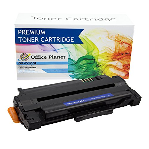 Office Planet Compatible Replacement for Samsung MLT-D105L Toner Cartridge For Use With ML-1910, ML-1915, ML-2525, ML-2525W, ML-2540, ML-2545, ML-2580N, SCX-4600, SCX-4623F, SCX-4623FN, SCX-4623FW, SF-650, SF-650P Printers