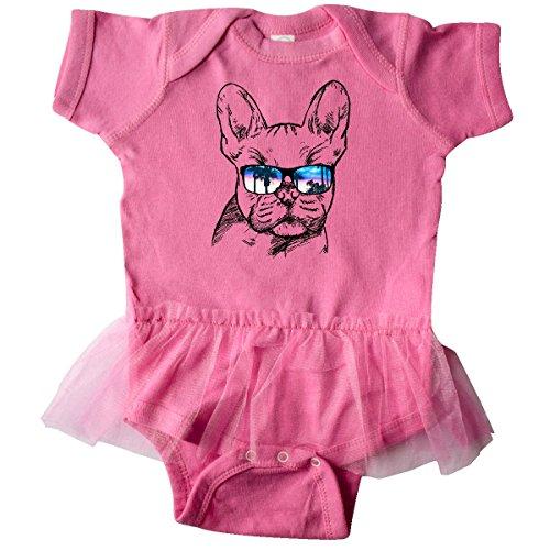 inktastic - French Bulldog Infant Tutu Bodysuit 6 Months Raspberry 2a719