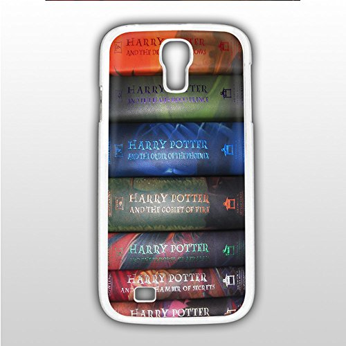 harry potter all cover book for Samsung Galaxy S4 White Case Cover