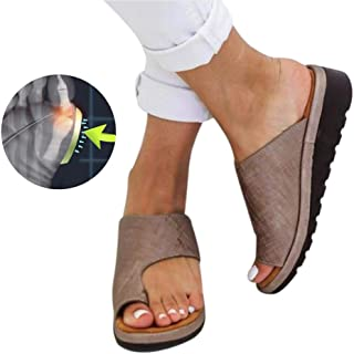 Gold, 40 2019 New Fashion Ladies Wedge Heel Sandals Clip Toe Summer Beach Shoes Women Comfy Platform Sandal Shoes NedolQ Thick Bottomed Sandal Shoes for Outdoor/Everyday/Party Coaches' & Referees' Gear