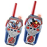 eKids Avengers Endgame FRS Walkie Talkies with Lights & Sounds Kid Friendly Easy to Use