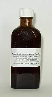 Asvet 100ml Baikal Helmkraut Tropfen, Scutellaria Tinktur, Extrakt, Konzentrat