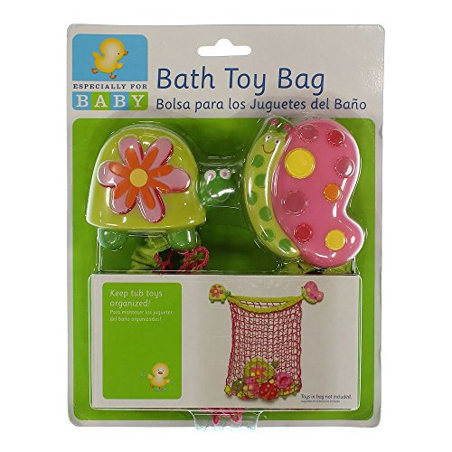 Learn More About Bath Toy Bag ~ Garden by ESFB