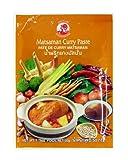 Cock Pasta de Curry Matsaman Cock, Medianamente Picante, Cocina Auténtica Tailandesa, Ingredientes Naturales, Vegano, Halal y sin Gluten 50 g