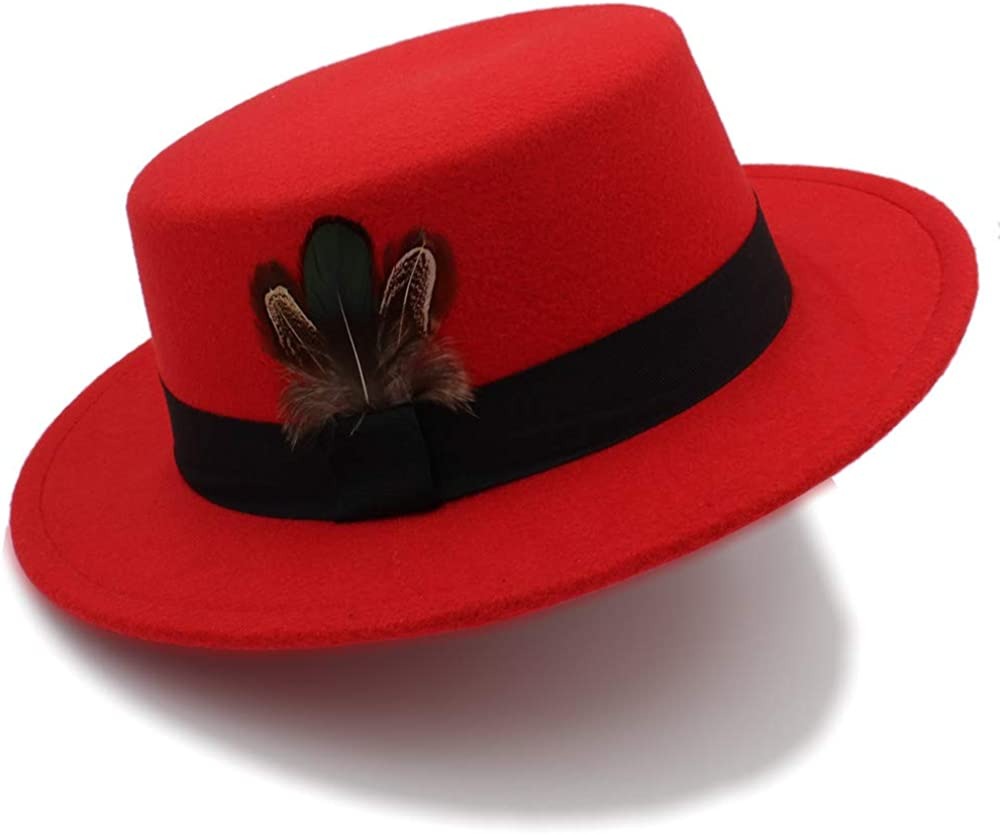 Women's Pork Pie Hat Tan Wool Fedora Hats Winter Bowler Brown Felt Fedoras Hat hat