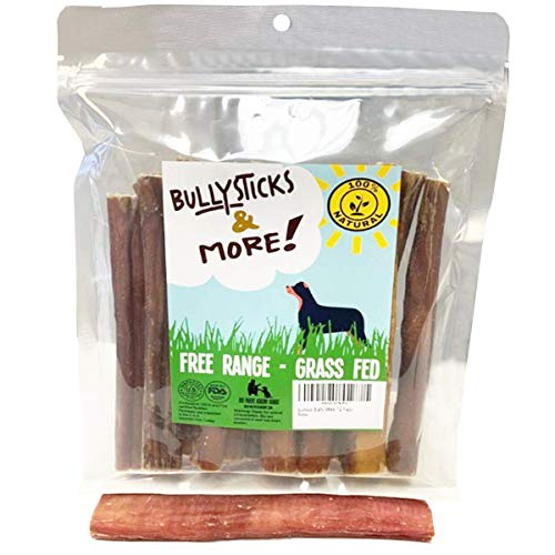 Bully Sticks (Jumbo Thick - 12 Pack) | Bully Sticks for Dogs | 100% Grass Fed Beef | Dog Parents Choice Bully Stick Dog Chews | Long Lasting Bully Bones for Dogs
