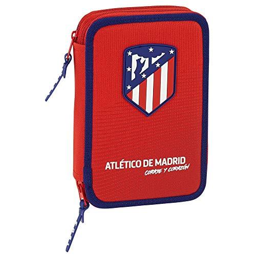 Atletico Madrid - vedertas 34-delig - collectie rood