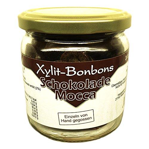 Xylit-Bonbons im Glas