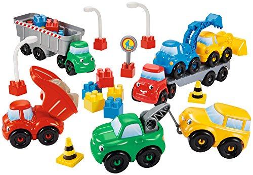 Ecoiffier 3089 - Abrick Baustellenfahrzeuge, Spiel