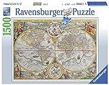 Ravensburger - Mapamundi histórico, Puzzle de 1500 Piezas (16381 6)