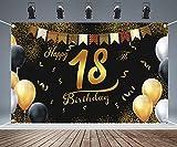 Feliz 18 Cumpleaños,Pancarta Feliz Cumpleaños,Fondo Foto Cumpleaños,18 Años Cumpleaños Decoración,Feliz Cumpleaños Decoracion,18 Aniversario
