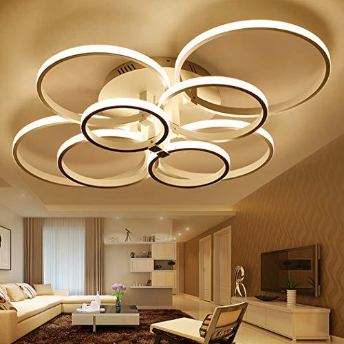 ONLT LED Moderne Plafonnier,LED panneau lumineux moderne lampe Plafonnier  Lustre Bureau,Lampe de plafond,pour Éclairage Cuisine, Bureau,Salle À ...