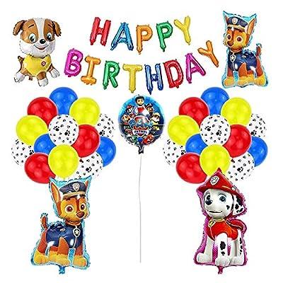 Decoración Cumpleaños Patrulla Canina Globos Patrulla Canina Pancarta Cumpleaños Patrulla Canina Balloons Paw Dog Patrol por smileh