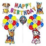 Decoración Cumpleaños Patrulla Canina Globos Patrulla Canina Pancarta Cumpleaños Patrulla Canina Balloons Paw Dog Patrol
