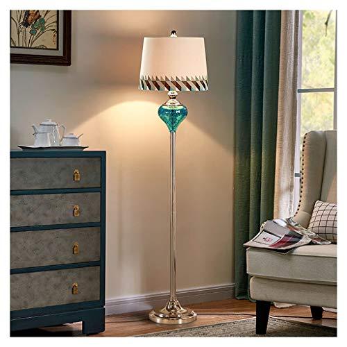 ZGP-LED Luces de piso Lámpara creativa americana Salón Dormitorio simple vertical Tabla Sofá decoración de la lámpara estilo europeo dormitorio de la lámpara lámpara de cabecera Nivel de energía [A ++