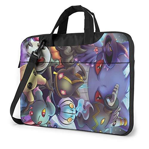 Po-Kem-On G-Ho-Sts Shockproof Laptop Shoulder Bag Messenger Bag Case Sleeve For 13/14/15.6 Inch Laptop Notebook